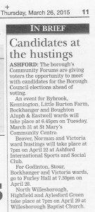 Ashford Herald 26th March 2015