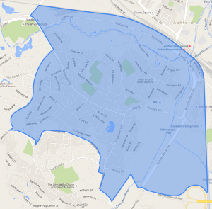 South Ashford Community Council area