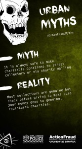 Urban Fraud Myth: Charity Fraud