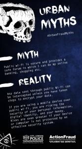 Urban Fraud Myths: Public wi-fi