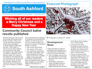 South Ashford December News-sheet