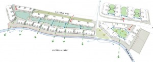 This drawing is indicate of the general layout of the site