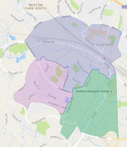 ABC warding proposal for South Ashford
