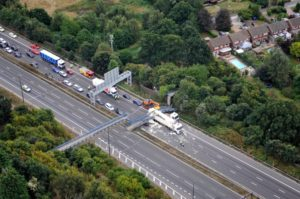 M20 collapsed bridge