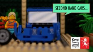 Second hand cars lego picture