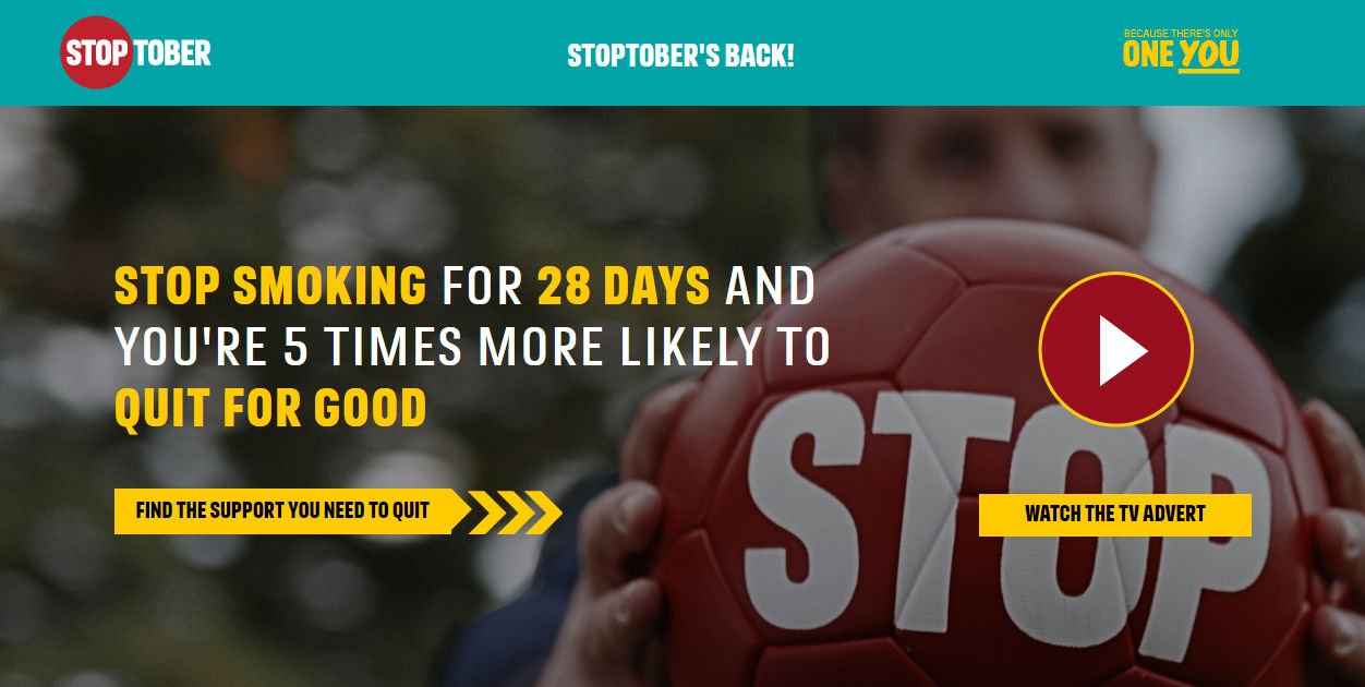 Stop smoking for 28 days and you're 5 times more likely to quit for good