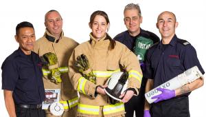 Fire service personell
