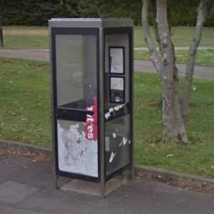 Jemmett Road Payphone Kiosk